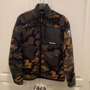 Timberland camouflage fleece jacket
